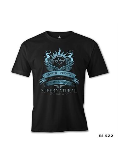 Lord Tshirt Supernatural - Join The Hunt Siyah Erkek Tshirt Siyah